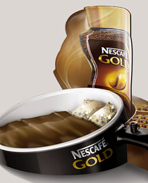 Nescafe Gold: кофе в постель